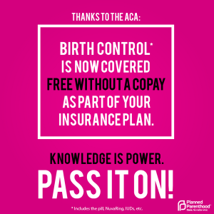 ACA birth control